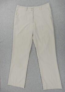 Nike Dri Fit Fairway Golf Pants (Womens Size 10) Tan