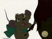 Secret of NIMH Don Bluth production animation cel 1982 LJE Seal COA 6