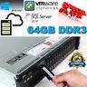 Dell PowerEdge R720 Xeon E5-2680 2.70GHz 64GB DDR3 H710P 1GB 6Gbps 2x 240GB SSD