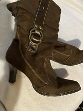 Women's Predictions Brown Boots Size 12
