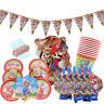 Super Mario Luigi Birthday Party Supplies Bag Tableware Plates Cups Napkin Decor