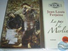 JEAN LOUIS FETJAINE LE PAS DE MERLIN CD livre mp3 (223)