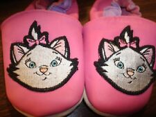 Disney Pink Leather Shoes with Aristocats on the toes Size 12 - 18 mo. New
