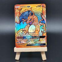 Charizard GX - Stained Glass Art - Custom Pokemon Card - Pokemon Orica