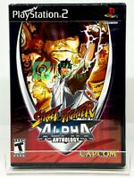 Street Fighter Alpha Anthology - PS2 - Brand New | Factory Sealed