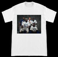 90's Dallas Cowboys Stars Troy Aikman Emmitt Smith Irvin Woodson Newton T-Shirt