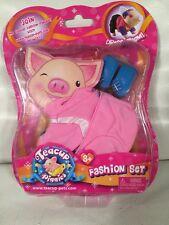 Teacup Piggies Fashion Set ~ Cotton Candy Snowboarder ~ New in package