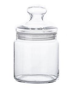 Luminarc Vorratsdose 750ml Deko Keks Bonbon Glas mit Deckel Bonboniere Behälter