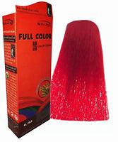 Hair COLOUR Permanent Hair Cream Dye Punk Rock Glam Red Blue Orange Grey AIRCOLO