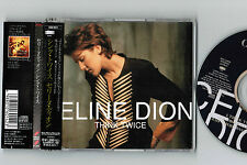 "NM! CELINE DION Think Twice JAPAN-ONLY 3-track 5"" CD SINGLE w/OBI ESCA-6014"
