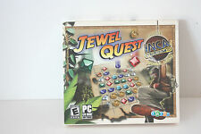 Jewel Quest: Factory Sealed PC Game Software NEW NWT
