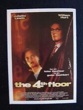 Filmplakatkarte cinema  The 4th Floor  Juliette Lewis , William Hurt