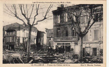 VILLEMUR 1930 inondations 10 place de la mairie éd bouzin