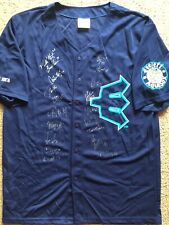 2019 Everett Aquasox Team Signed SGA Jersey Autographed George Kirby Williamson