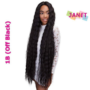 SUPER DEEP - Super Long Extended Part Deep Swiss Lace Wig - Janet Collection