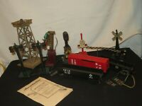 TOY TRAIN ACCESSORIES MARX LIONEL AMERICAN FLYER CARS SIGNALS PARTS
