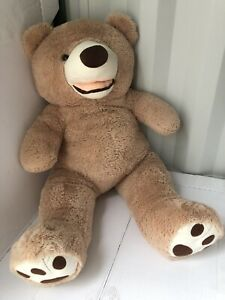 YunNasi Giant Large Cuddly Huge Plush Stuffed Teddy Bear Toy Rare Colour 47 Used