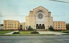 Mobile Alabama~Dauphin Way Baptist Church~Romanesque Architecture~1962~Post Card