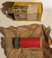 Caterpillar OEM Valve 228-7381. Cat Original Valve 2287381. New