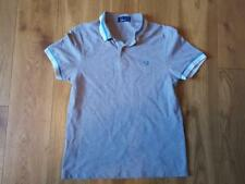 Fred Perry Grey Polo Shirt Youth Large or Adults XS Good Condition Mod Terraces