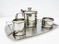 Vintage Retro 1960s Juliette Stainless Steel Tea Set Teapot