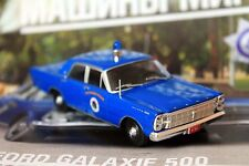 1:43 Ford Galaxie 500 Westwood Massachus Police cars of the world + Magazine #46