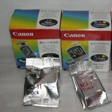 Nuevo con embalaje original - 3x canon bci-11 Black & 3x bci-11 color cartuchos para Canon bjc-85