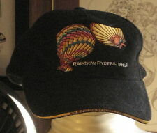 RAINBOW RIDERS Hot Air Balloons Fitted Cap