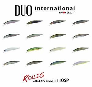 DUO Realis Jerkbait 110 SP 11m 16,2g Fishing Lures (Choice of Colors)
