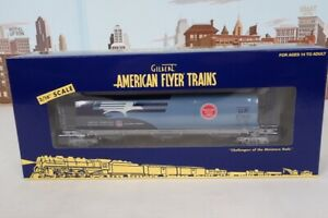 American Flyer S Gauge No.6-48641 Missouri UP Cylindrical Hopper Car New In Box