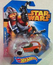 Star Wars Mattel Hot Wheels Luke Skywalker Diecast Super Car - Brand New