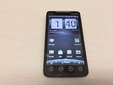 HTC EVO BLACK SPRINT SMARTPHONE (BAD ESN) (FOR PARTS) (PLEASE READ BELOW)