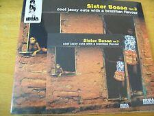 SISTER BOSSA VOL 3 COOL JAZZY CUTS WITH  BRAZILIAN FLAVOUR CD DIGIPACK SIGILLATO
