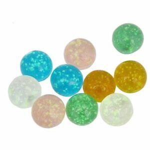 Bouncing Ball Luminous Glass Ball Small Marbles Glass Marbles Pinball Machine