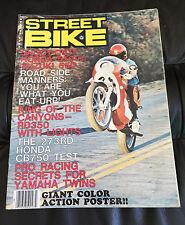 MAY 1976 STREET BIKE MAGAZINE HONDA 550 vs SUZUKI 550 CB750
