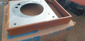 Thorens TD150 MK2 turntable Plinth, base and Top plate. Excellent