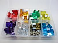 Mini hoja fusibles golpe resplandor Fusible mixtas 3 -- 40 Amp Surtido Caja Qty 160 AT164