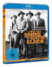 Die vier Söhne der Katie Elder [Blu-ray/NEU/OVP] John Wayne, Dean Martin, Dennis