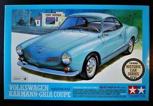 Steal ! TAMIYA 1/24 VW KARMANN-GHIA COUPE 1966 Model in good condition !!