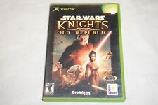 Star Wars Knights Of Old Republic 1 ORIGINAL (Microsoft Xbox) Complete KOTOR