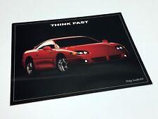 1994 Dodge Stealth R/T Information Sheet Brochure