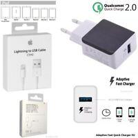 Original Qualcomm USB 2.0 Schnell Ladegerät EU Adapter Ladekabel iPad Pro 12.9
