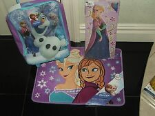 FROZEN ROLLING LUGGAGE,MEMORY FOAM MAT & PICTURE FRAME RETAIL $104.00