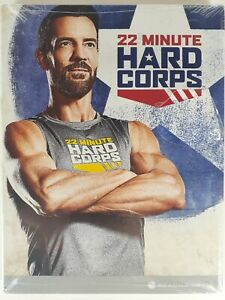 "22 Minute Hard Corps Beachbody DVD Set Workout Tony Horton Fitness ""New"""