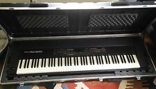 Beautiful Roland RD 600 Stage Piano with Hard SK8 Road Case