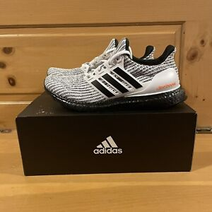 Adidas Men's UltraBoost 4.0 DNA H04154 Oreo Black and White Shoes Size 11