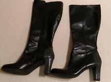 """Liz Claiborne Woman's Black Knee High Boots Size 9.5M """"Jacob"""""""