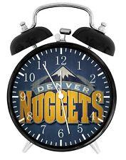 Denver Nuggets Alarm Desk Clock Home or Office Decor F67 Nice Gift