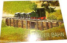 Egger Bahn Katalog / Neuheitenblatt    å