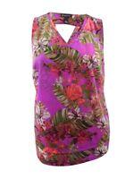 INC International Concepts Women's Plus Size Floral-Print Shell